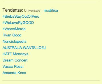 """Mentre scrivo l hashtag  vascomerda è primo tra le """"tendenze"""" di Twitter in  Italia (foto – seguito da Nonciclopedia 27567dbbbb22"""